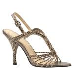 Cassidy Snake T-Strap Sandal