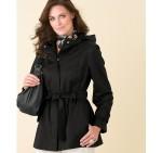 Jacquard Belted Jacket