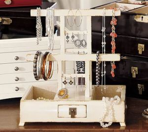 Pottery Barn Jewelry Organizer